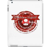 Mushroom Kingdom Custom Karts (Distressed Version) iPad Case/Skin