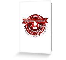 Mushroom Kingdom Custom Karts (Distressed Version) Greeting Card
