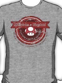 Mushroom Kingdom Custom Karts (Distressed Version) T-Shirt