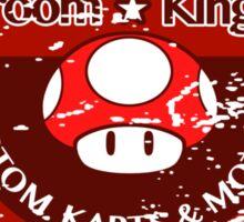 Mushroom Kingdom Custom Karts (Distressed Version) Sticker