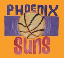 Phoenix Suns design by nbatextile