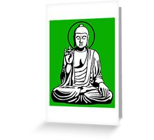 Young Buddha No.1 (2 colors) Greeting Card