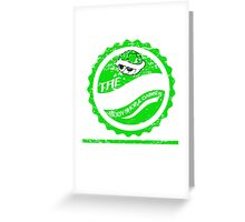 The Green Shell Body Shop & Garage (Distressed Version) Greeting Card