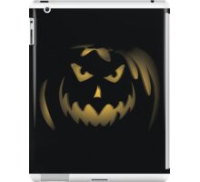 Evil Pumpkin but it was because of his upbringing iPad Case/Skin
