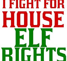I FIGHT FOR HOUSE ELF RIGHTS by Divertions