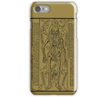 Zodiac Calendar....circa 1495! iPhone Case/Skin