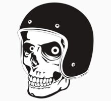 Skull with Helmet - Safety First! T-Shirt