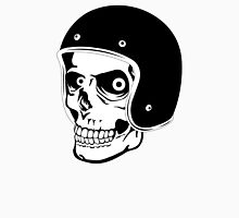 Skull with Helmet - Safety First! Unisex T-Shirt