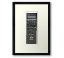 Vintage Calculator Framed Print