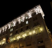 Architecture in Rome, Italy - Just Lift Your Head, Day and Night by Georgia Mizuleva