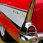 Chrome tail light - Chevrolet BelAir by Norman Repacholi