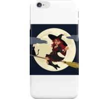 Cute Witch for Halloween iPhone Case/Skin