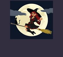 Cute Witch for Halloween Unisex T-Shirt