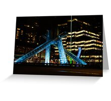 Vancouver - 2010 Olympic Cauldron Lit at Night Greeting Card