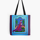 Lady in a Garden Tote by Shulie1