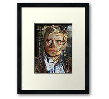 Ephemera II: John Watson Framed Print