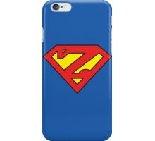 Zuperman (Primary Colors) iPhone Case/Skin