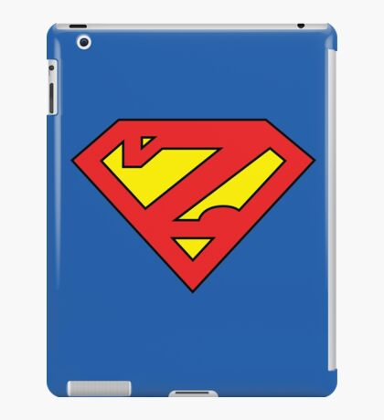 Zuperman (Primary Colors) iPad Case/Skin