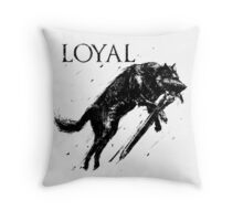 Great Wolf Sif Throw Pillow