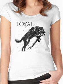 Great Wolf Sif Women's Fitted Scoop T-Shirt
