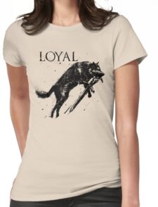 Great Wolf Sif Womens Fitted T-Shirt