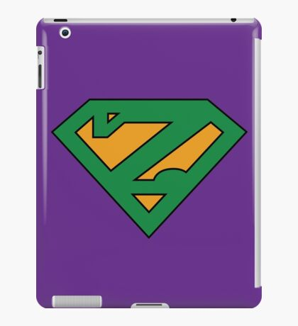 Zuperman (Secondary Colors) iPad Case/Skin