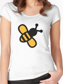 Comic bee Women's Fitted Scoop T-Shirt
