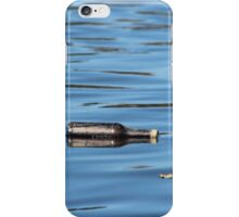 Bottle reflection iPhone Case/Skin