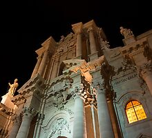Cathedral of Syracuse (Duomo di Siracusa) in Sicily, Italy by Georgia Mizuleva