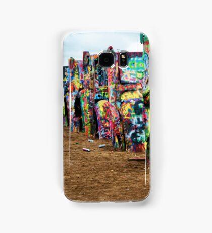 Cadillac Ranch Samsung Galaxy Case/Skin