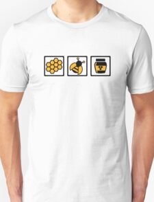 Bee honey Unisex T-Shirt