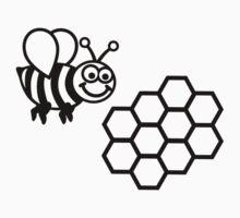 Bee honeycomb by Designzz