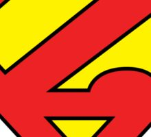 Zuperman (Primary Colors) Sticker