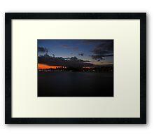 San Francisco Bay Dawn Framed Print