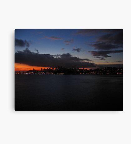 San Francisco Bay Dawn Canvas Print