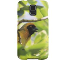 Singing his heart out Samsung Galaxy Case/Skin