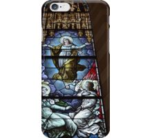 Stained Glass Window, St. Anthony of Padua Church, Jersey City, New Jersey  iPhone Case/Skin
