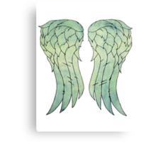 Daryl Dixon's jacket wings Canvas Print