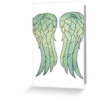 Daryl Dixon's jacket wings Greeting Card
