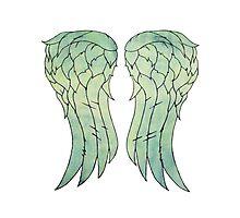 Daryl Dixon's jacket wings Photographic Print