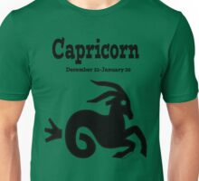 Signs of the Zodiac:  CAPRICORN.... Unisex T-Shirt