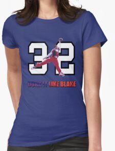 """Dunk It Like Blake"" Womens Fitted T-Shirt"