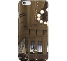 Waiting Room, Historic Hoboken Ferry and Train Terminal, Hoboken, New Jersey  iPhone Case/Skin