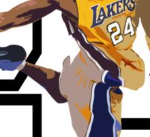 """""""Dunk It Like Kobe w/o text"""" Sticker"""