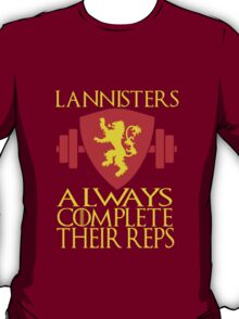 Lannister Workout T-Shirt