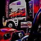 ANDRA TRUCK AND UNDER PRESSURE by JAMES LEVETT