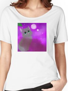 Bubble Kitten Women's Relaxed Fit T-Shirt