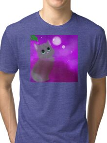 Bubble Kitten Tri-blend T-Shirt