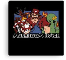 Mushroom Rage Canvas Print