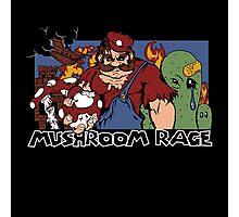 Mushroom Rage Photographic Print